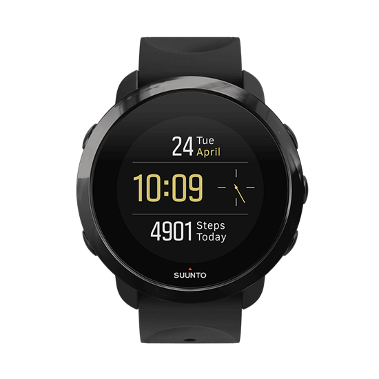 SUUNTO(スント) 3 Fitness ALL BLACK